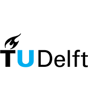 the logo of the TU Delft